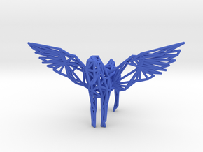Pegasus in Blue Processed Versatile Plastic