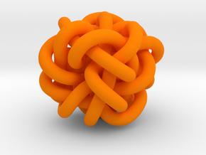 B&G Knot 04 in Orange Processed Versatile Plastic