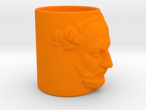 test cup Thucydides in Orange Processed Versatile Plastic