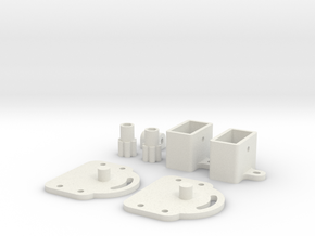 Frame Swivel for EPONG v2 in White Natural Versatile Plastic