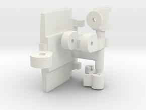 VF-9 small spare parts set in White Natural Versatile Plastic