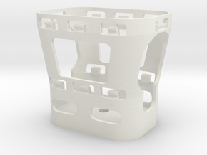 ZOOM H2N Shock Mount in White Natural Versatile Plastic