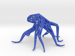 Octopus in Blue Processed Versatile Plastic