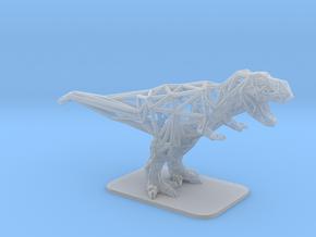 T-Rex Tyrannosaurus in Smooth Fine Detail Plastic