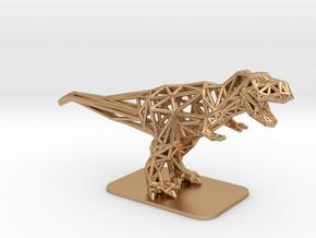 T-Rex Tyrannosaurus in Natural Bronze