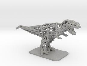 T-Rex Tyrannosaurus in Aluminum