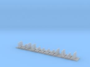 Minitrix Plan-E interieur (2e klas) in Smooth Fine Detail Plastic