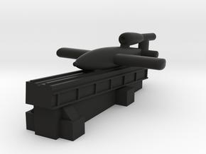 V-1 Flying Bomb (Germany) in Black Premium Versatile Plastic