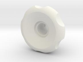 RA Small Handle in White Natural Versatile Plastic