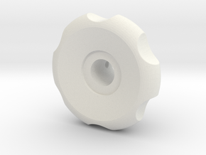 RA Large Handle in White Natural Versatile Plastic