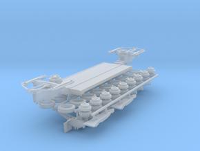 Scheuerle Tieflader - flat-bed trailer 1:160 in Smooth Fine Detail Plastic