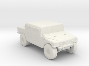 M998A1 220 scale in White Natural Versatile Plastic