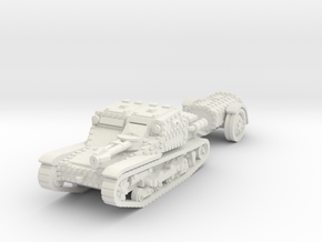 cv35 flamethrower scale 1/56 in White Natural Versatile Plastic