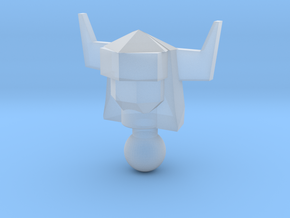 Galactic Defender Acroyear II Head in Smooth Fine Detail Plastic