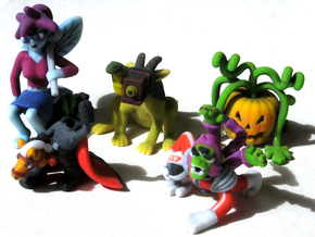 2 Inch Monsters: Batch 06 in Full Color Sandstone