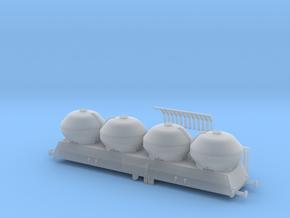 Wagon PKP UACS typ(e) 408s Skala N / N Scale Upros in Smooth Fine Detail Plastic