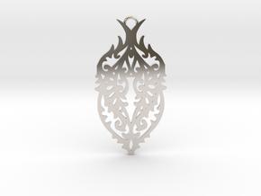 Thorn pendant in Platinum: Large
