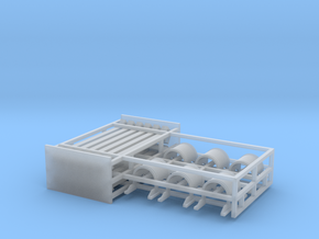 Coil Car Cover Parts - HOscale in Smooth Fine Detail Plastic