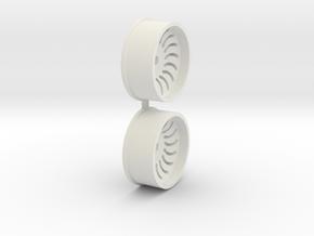 Offset-3,0-front-Sickl-Rims-MiniZ-AWD in White Natural Versatile Plastic