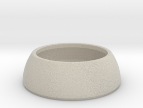 DOMOCLIP Paperclip Jar in Natural Sandstone
