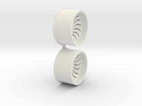 Offset-2,0-rear-Sickl-Rims-MiniZ-AWD in White Natural Versatile Plastic