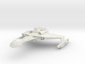 Klingon D6 Class C Refit  HvyCruiser in White Natural Versatile Plastic