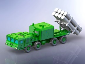Russian BAL E Coastal Missile System on MZKT 1/285 in Smoothest Fine Detail Plastic