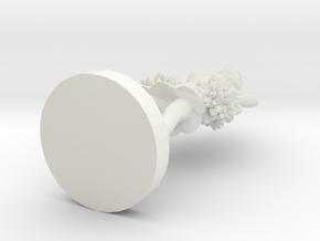 Cheerleader 02 (repaired) in White Natural Versatile Plastic