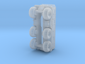 Burlak6x6 in Smoothest Fine Detail Plastic: 1:200