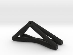 ZRD Front Upper X Brace in Black Natural Versatile Plastic