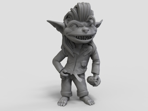 Greaser Goblin in Smooth Fine Detail Plastic