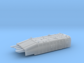 1/196 DKM Torpedo Tubes in Smooth Fine Detail Plastic