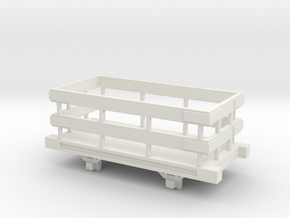 Bandai OO9 Scale Slate Truck in White Natural Versatile Plastic