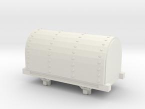 Bandai OO9 Scale Gunpowder Van in White Natural Versatile Plastic