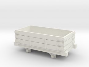 Bandai OO9 Scale Open Wagon Type 1 in White Natural Versatile Plastic