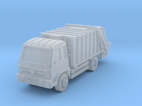 Garbage rear load Dongfeng 16t in Smoothest Fine Detail Plastic: 1:400