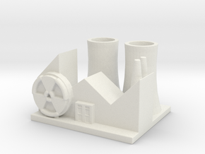 Nuclear Research Center in White Natural Versatile Plastic