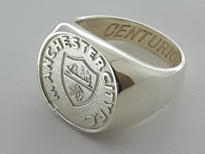 Centurions Size L. 16.3mm. Silver. in Polished Silver