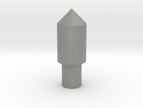 123 block peg 2 in Gray Professional Plastic