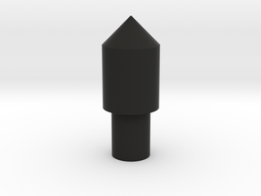 123 block peg 1 in Black Natural Versatile Plastic