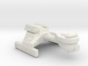 3788 Scale Klingon G2 Police Cutter WEM in White Natural Versatile Plastic