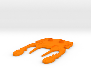 Lobstros Stand  in Orange Processed Versatile Plastic