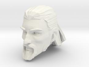 head 4 medium hair in White Natural Versatile Plastic
