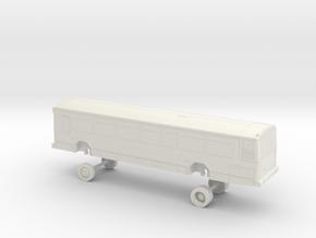 HO Scale Bus Gillig Phantom St. Louis 3100s 3200s in White Natural Versatile Plastic