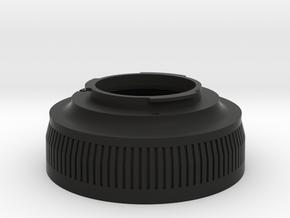 Zenza Bronica ETR To Pentax K-mount in Black Natural Versatile Plastic
