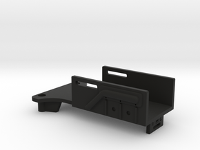 CARISMA FWD MOUNT MOTOR/BATTERY TRAY in Black Natural Versatile Plastic