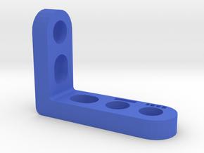 Dual Camera Mount - Arm - 3/3 in Blue Processed Versatile Plastic