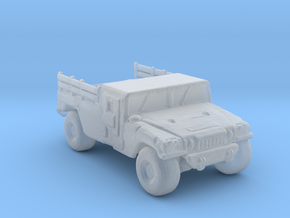 M1038A1 up armored 285 scale in Smooth Fine Detail Plastic