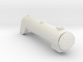 A0 - A1 RHD Boiler & Firebox in White Natural Versatile Plastic