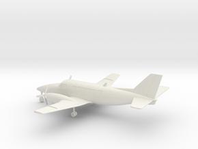 Beechcraft Model 99 Airliner in White Natural Versatile Plastic: 1:100